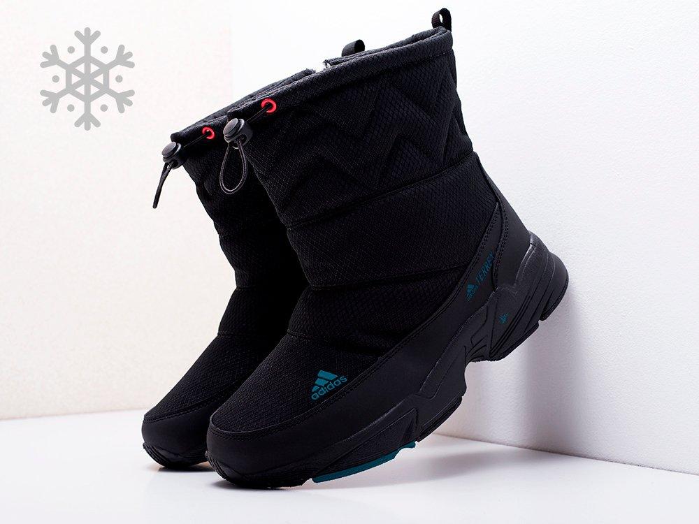 Сапоги Adidas цвет Черный купить по цене 2710 рублей в интернет-магазине clb.outmaxshop.ru с доставкой ☑️